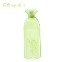 加厚pvc热水袋暖手宝宝注水热水宝充水保暖水袋非橡胶爆 加厚款
