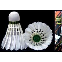 羽毛球 体育用品 训练球练习球 耐打型 型号105 一筒12只