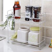【满减】欧润哲 迷你家用收纳层架浴室储物架 洗漱窗台收纳架厨房置物架子