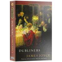 Dubliners 都柏林人 英文版 詹姆斯乔伊斯 英文原版 外国文学 英文版 正版进口英语书籍