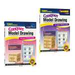 SAP Conquer Model Drawing For Primary Levels 1-6年级 2册套装 附赠电