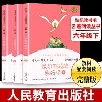 包邮2021春人教社快乐读书吧尼尔斯骑鹅旅行记六年级下册名著阅读课程化丛书6年级下册 人民教育出版