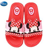 迪士尼专柜正品米奇米妮儿童拖鞋男童凉拖幼儿沙滩鞋宝宝家居鞋