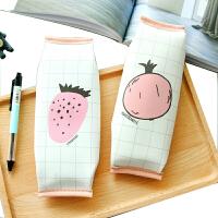 韩国文具创意蜜语简约男女初中小学生笔袋帆布皮质大容量铅笔盒
