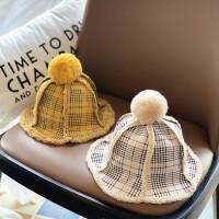 宝宝帽子秋冬季毛线帽可爱潮冬天超萌儿童洋气