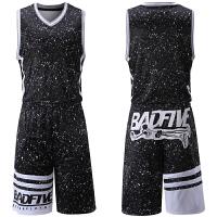 篮球服套装男女篮球衣印字透气球服双面可穿球衣