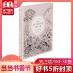 The Flower Year: A Colouring Book 花之年:一本填色书 解压涂色图书