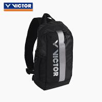 VICTOR胜利羽毛球包男女款比赛训练装备包防水运动胸包BG3910