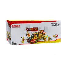4合体拼搭小积木7建筑8工程9男孩男童学生儿童拼装玩具6-10岁 53002