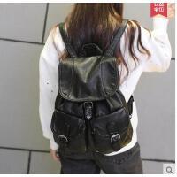 双肩包女韩版学院风 包包 时尚休闲女包书包新款女背包双肩韩可礼品卡支付