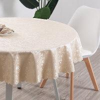 欧式桌布酒店饭店餐厅圆形大圆桌餐桌布台布布艺