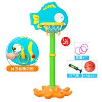 儿童篮球架子宝宝可升降投篮筐小孩篮球架框 礼物家用室内幼儿球类玩具