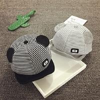 婴儿帽子6-个月春秋儿童鸭舌帽男女童棒球帽宝宝帽子1-2岁韩版