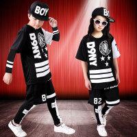 爵士舞服装儿童街舞嘻哈套装韩版演出表演服装男女