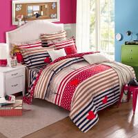 加厚磨毛四件套家纺学生三件套床上用品床单款床笠