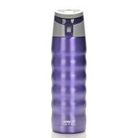 哈尔斯LD-480A-1 480ml真空保温杯户外运动水瓶水杯 紫色