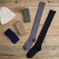 长袜子女长筒袜可爱过膝袜高筒袜潮ins学生黑色秋冬