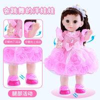 【支持礼品卡】会说话的芭比洋娃娃智能唱歌跳舞对话眨眼套装小女孩公主单个玩具v8l