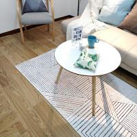 几何北欧现代简约客厅地毯卧室茶几床边地垫可机洗家用长方形
