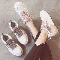 夏季运动鞋女韩版休闲鞋街拍百搭女鞋内增高学生小白鞋子