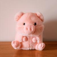 姚琛仓鼠公仔毛绒玩具可爱超萌小号企鹅熊猫娃娃猪玩偶鼠年吉祥物