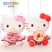 儿童生日礼物凯蒂猫KT猫公仔娃娃毛绒玩具