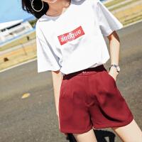 T恤短袖女2018新款女装夏装ins上衣bf风韩范宽松学生韩版打底衫潮