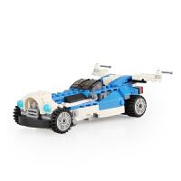 组装儿童积木拼装玩具8-10-12岁男孩益智拼插男生机器人模型飞机