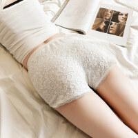 短裤女春夏外穿打底裤薄款修身防走光裤子三分蕾丝安全裤