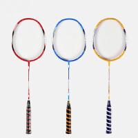 户外运动W系列碳铝一体羽毛球拍 三色可选体育训练健身器材