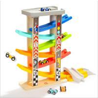 特宝儿升级 男孩玩具车女宝宝六轨滑翔轨道车幼儿童早教益智玩具