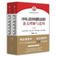 《中华人民共和国民法总则》条文理解与适用(上、下册) 沈德咏 9787510917820 人民法院出版社图书