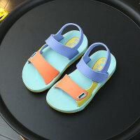 儿童沙滩鞋男 男童凉鞋3-4岁小童夏舒适软底新款韩版小孩童鞋