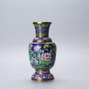 10寸六线花瓶蓝地