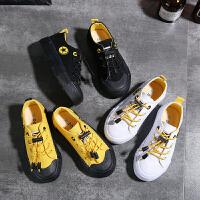 儿童帆布鞋低帮休闲女童鞋子男童板鞋