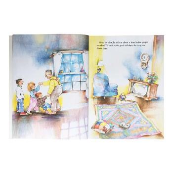 Song and Dance Man 歌舞爷爷 Karen Ackerman 1989年凯迪克金奖 虽然这个故事只是描写一个生活中的小乐趣,但却呈现出祖孙两代间乐融融的情感家长们推荐的经典有趣故事书