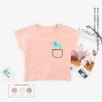 【特价】夏季新款短袖儿童T恤薄款宝宝套头衫韩版薄款婴儿衣服