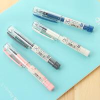 爱好中性笔0.5半针管口袋笔水笔短笔签字专用笔X43