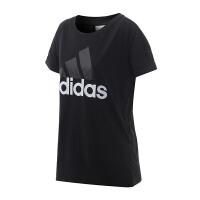 adidas阿迪达斯女装短袖T恤2018运动服S97222