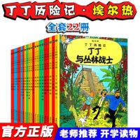 丁丁历险记 中国少年儿童出版社全套22册 漫画书 非注音版连环画故事书绘本图书3-6周岁一年级课外阅读二三年级班主任推
