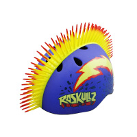 raskullz莱斯狐 3D莫霍克系列儿童头盔 儿童户外运动安全帽 自行车骑行轮滑溜冰护具