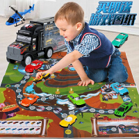 儿童玩具大货车合金男孩模型汽车套装3-4-5-6岁男童礼物