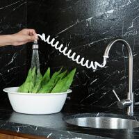 伸缩水龙头花洒节水器家用自来水防溅过滤嘴厨房加长滤水器过滤器
