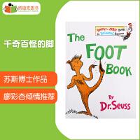 【99选5】美国进口 千奇百怪的脚 The Foot Book Dr. Seuss 苏斯博士代表作【精装】廖彩杏书单第21周 第3本#
