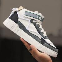 高帮鞋男鞋子学生秋季男鞋板鞋