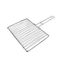 不锈钢烤鱼夹烧烤网 烤鱼网 烧烤配件 烧烤工具 夹子 加粗 商用