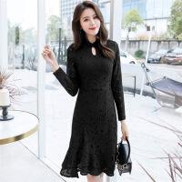 连衣裙中长款年春季长袖可爱唯美韩版潮流百搭