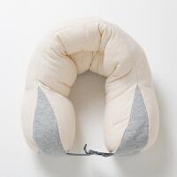 蜗牛睡眠 亲肤高透气护颈枕 灰白