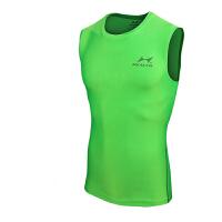 HEALTH/海尔斯健身训练 透气速干衣 882 运动紧身衣男 运动无袖背心T恤