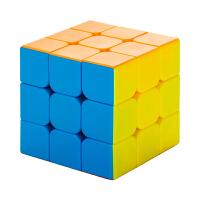 得力三阶四阶初学者魔方学生儿童成人益智玩具顺滑3阶减压
